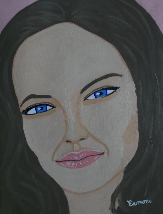 Angelina Jolie by EAMONREILLY
